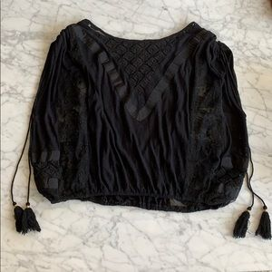"Like new Free People ""romantics"" blouse"